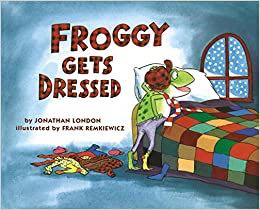 Froggy Gets Dressed -  cover