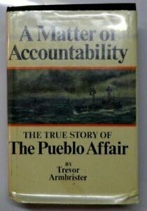 A Matter Of Accountability -  cover