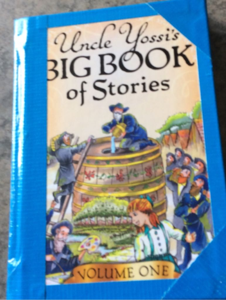 Uncle Yossis Big Book Of Stories -  cover