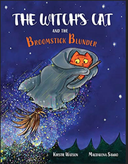 The Witch's Cat and The Broomstick Blunder - Kindle cover