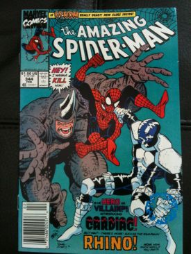 The Amazing Spider-man - 344 cover