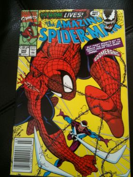 The Amazing Spider-man - 345 cover