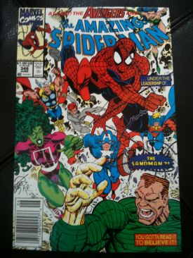 The Amazing Spider-man - 348 cover