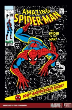 The Amazing Spider-man - 100 cover