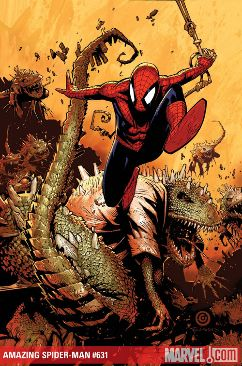 The Amazing Spider-man - 631 cover