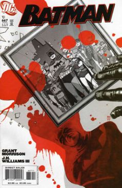 Batman - 667 cover