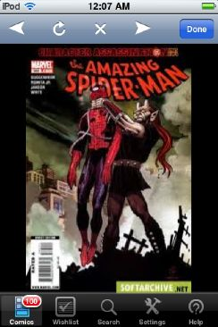 The Amazing Spider-man - 585 cover