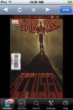 The Amazing Spider-man - 587 cover