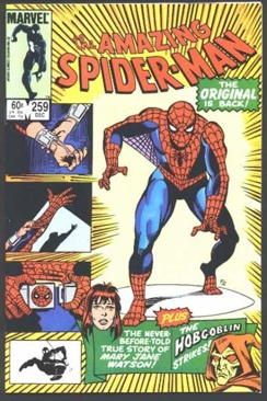 Amazing Spider-man, The - 259 cover