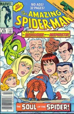 Amazing Spider-man, The - 274 cover