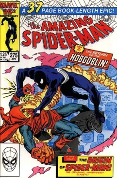 Amazing Spider-man, The - 275 cover
