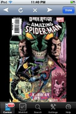 The Amazing Spider-man - 595 cover