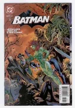 Batman - 619 cover