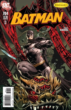 Batman - 704 cover