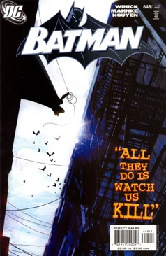 Batman - 648 cover