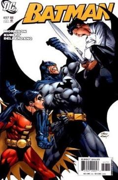 Batman - 657 cover