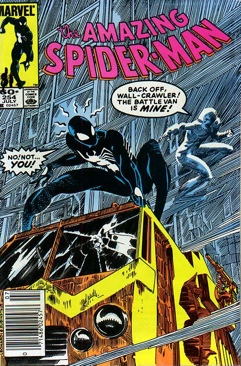Amazing Spider-man, The - 254 cover
