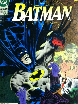 Batman - 496 cover