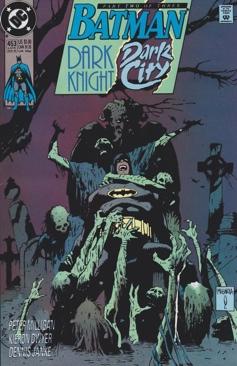 Batman - 453 cover
