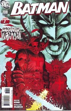 Batman - 708 cover