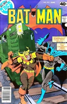 Batman - 312 cover