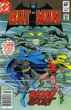 Batman - 349 cover