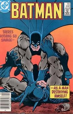 Batman - 402 cover