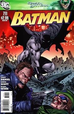 Batman - 711 cover