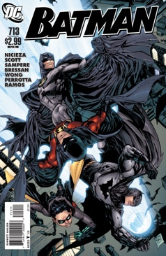Batman - 713 cover
