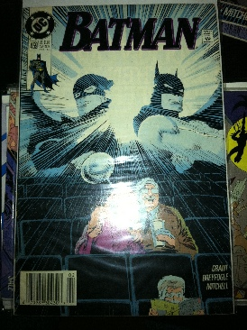 Batman - 459 cover