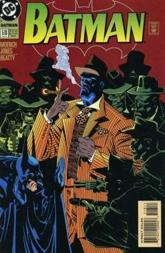 Batman - 518 cover