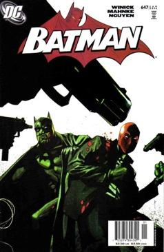 Batman - 647 cover