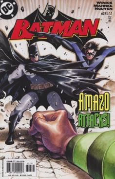 Batman - 637 cover