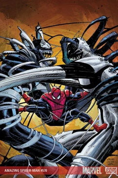The Amazing Spider-man - 570 cover