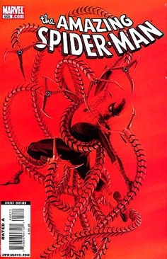 The Amazing Spider-man - 600 cover