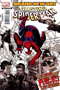 The Amazing Spider-man - 564 cover