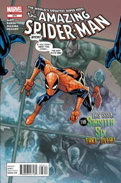 The Amazing Spider-man - 676 cover