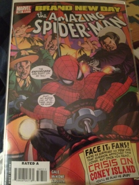 The Amazing Spider-man - 563 cover