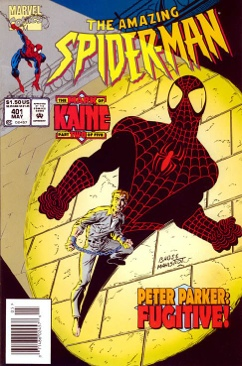 The Amazing Spider-man - 401 cover