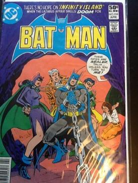 Batman - 334 cover