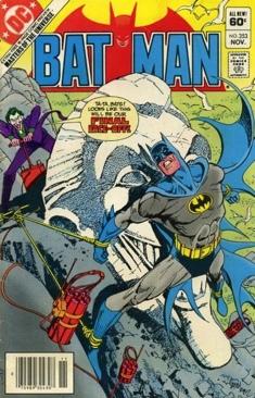 Batman - 353 cover