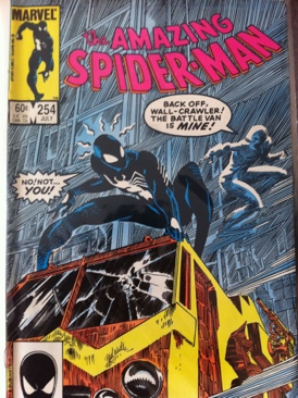 The Amazing Spider-man - 254 cover
