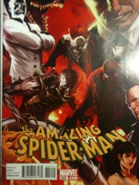 The Amazing Spider-man - 644 cover