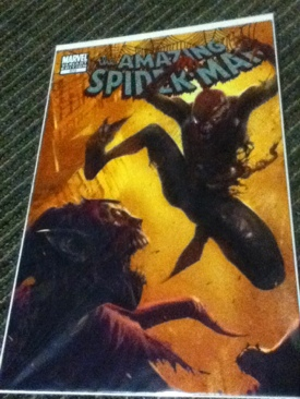 The Amazing Spider-man - 573 cover