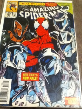 The Amazing Spider-man - 385 cover