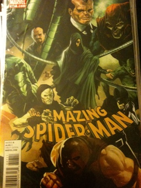 The Amazing Spider-man - 647 cover
