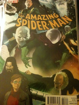 The Amazing Spider-man - 646 cover