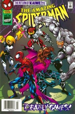 The Amazing Spider-man - 409 cover