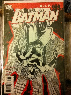 Batman - 676 cover