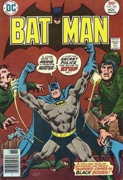 Batman - 281 cover